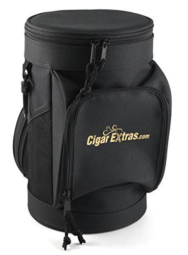 CigarExtras Le Tube Travel 20 Cigar Case Shoulder Bag by CigarExtras by CigarExtras (Image #1)