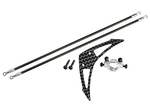 Microheli Aluminum/Carbon Fiber Tail Boom Support Mount set - BLADE 230S / 250CFX