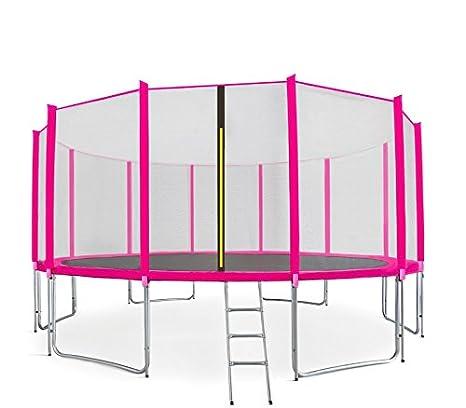 Trampolín de jardín Aga Sport Pro, cama elástica infantil, única ...