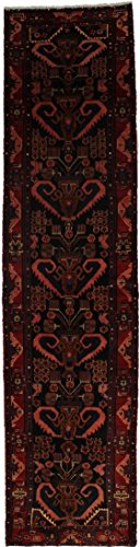 Oversized Hand Knotted Runner Nahavand Persian Style Rug Oriental Area Carpet 4'X16'