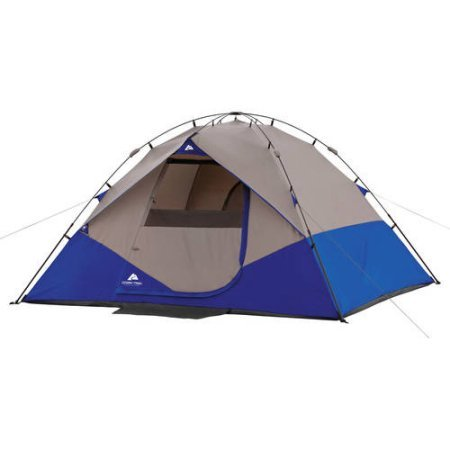 10′ x 9′ Instant Camping Dome, Blue, Sleeps 6