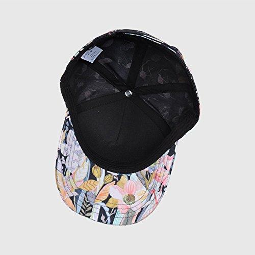 ... Hat House- Berretto da Baseball con Stampa mongola Europeo Berretto  Estivo da Donna Casual Europeo 3142ce7286c4