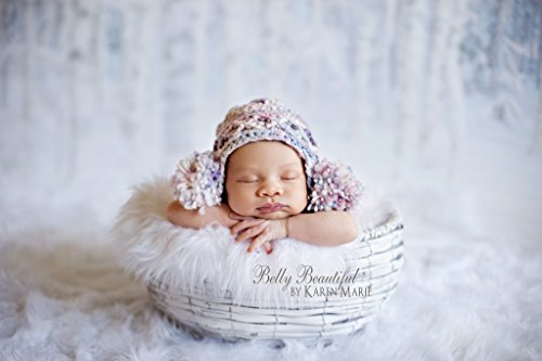 55578a98c6b Double Puff Earflap Hat Knit Pattern - All Baby