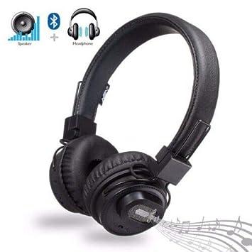 Magichold Nia - Auriculares Bluetooth 3 en 1 con Altavoz ...