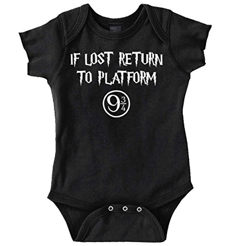 Brisco Brands Lost Return Platform 9 3/4 Funny Shirt Cool Harry Gift Potter by Brisco Brands