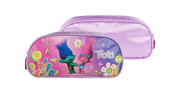 Trolls 0264 - Estuche para lápices, color lila: Amazon.es ...