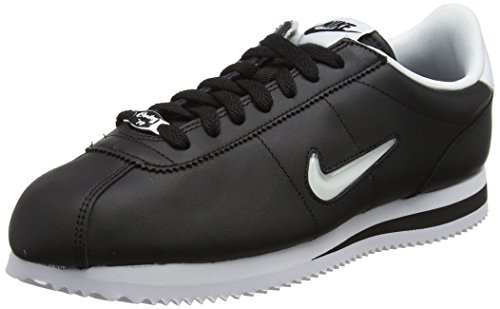 White Basic Nike Black Noir Homme Jewel Cortez Baskets z5Oq50fw