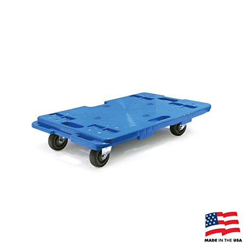 American Cart Interlocking Equipment Dolly - 4 PACK, 16 Inches by 23 Inches, 330-Pound Capacity