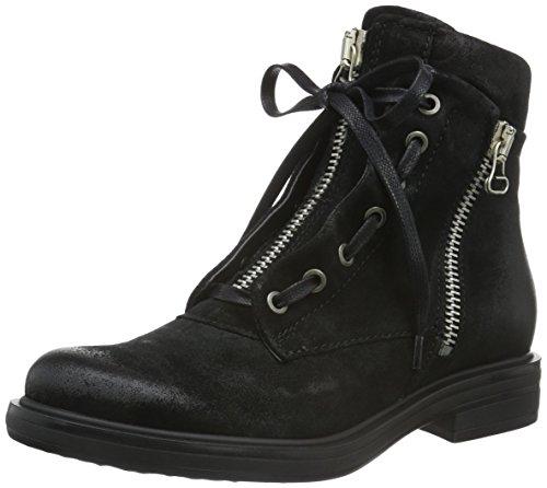 Mjus 544206-0301-6002, Zapatillas de Estar por Casa para Mujer Negro - negro