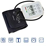 Arm Blood Pressure Monitor, Digital Home Blood Pressure Meter Voice Broadcast Smart Compression for Family