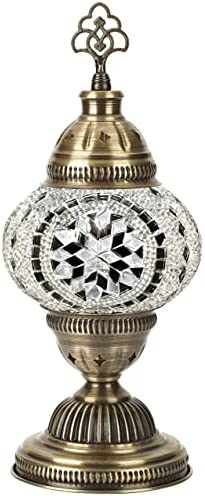 Demmex Turkish Moroccan Mosaic Table Bedside Desk Night Lamp Lampshade