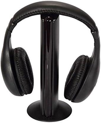 acutty multifunción de auriculares inalámbricos para HDTV TV VCD MP3 MP4 PC CD DVD/Radio FM: Amazon.es: Informática