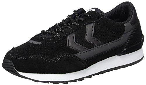 Bourdons Sneaker Unisexe Adulte - Relfex Ii Chaussures Tonales Occasionnels Noir Et Gris Blanc Baskets Reflet Su