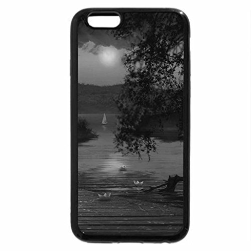 iPhone 6S Plus Case, iPhone 6 Plus Case (Black & White) - The Storm is Coming
