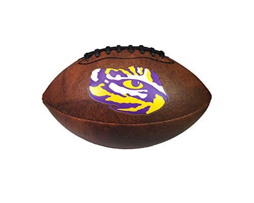 (NCAA LSU Tigers Color Logo Mini Football, 9-Inches )