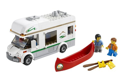 LEGO City Great Vehicles 60057 Camper Van (Discontinued by manufacturer) (Lego City Great Vehicles Van And Caravan)