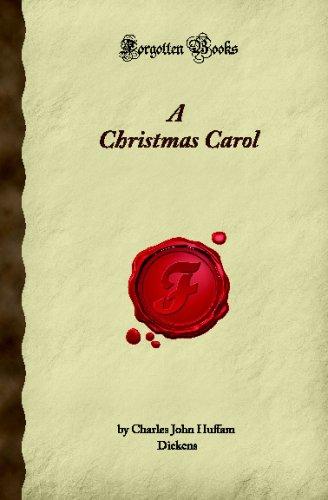 Download A Christmas Carol (Forgotten Books) pdf
