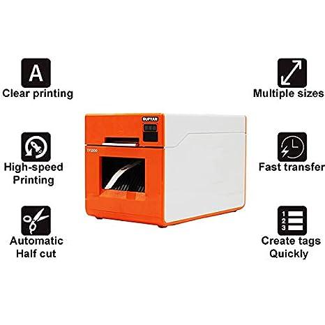 TANCEQI 40 mm Impresora térmica, Impresora de Tubo retráctil de ...