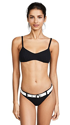 Solid-Striped-Womens-The-Rachel-Rib-Bikini-Top