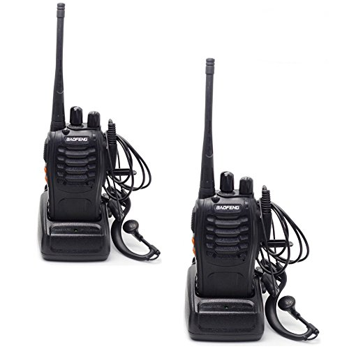 Baofeng Two Way Radio BF-888S 5W CTCSS 16 - Police Scanner Amplifier