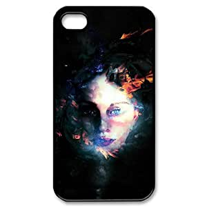 Ghost Use Your Own Image Phone Case for Iphone 4,4S,customized case cover ygtg547298