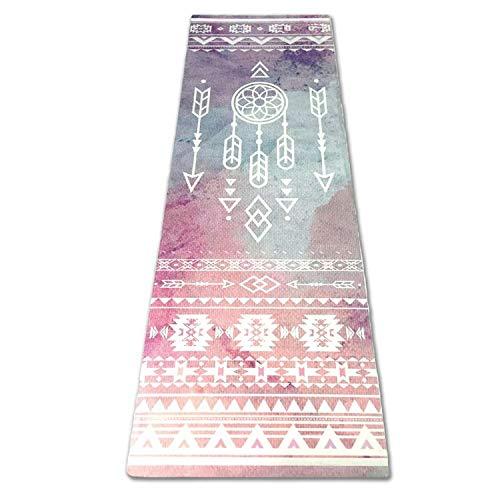 Love Generation Full Farbe Tribal Yoga Matte - Naturkautschuk