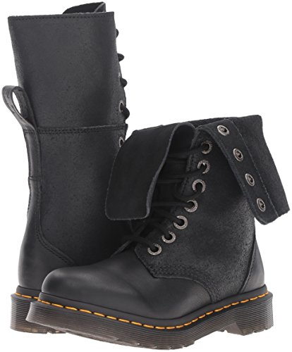 Dr. Martens Women's Hazil Boot Black Virginia Leather Boot, Black Virginia Leather, 4 Medium UK (6 US) by Dr. Martens (Image #6)