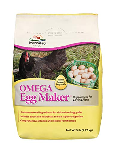 Manna Pro Omega Egg Maker, 5 lb (The Best Laying Hens)