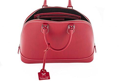 Anna Cecere Kvinnor crossbody väska röd kaky