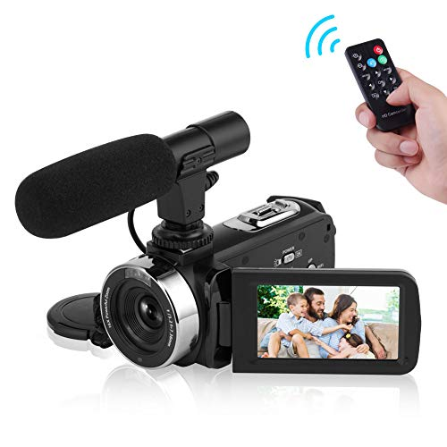 SEREE Camcorder Full HD 1080P 30FPS Vlogging...