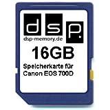 DSP Memory Z-4051557435964 16GB Speicherkarte für Canon EOS 700D