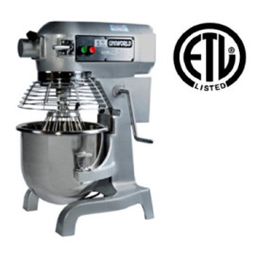 UniWorld 20 Quart Planetary Mixer 3 Speeds ETL Listed UPM-20E
