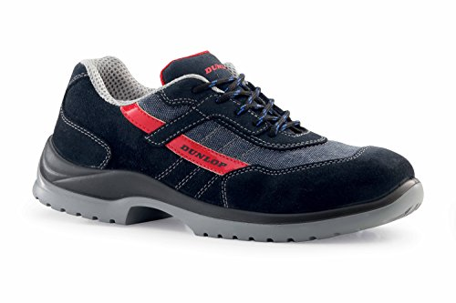 Dunlop Fast Response - Zapatos de protección laboral S1P SRC Azul Jeans