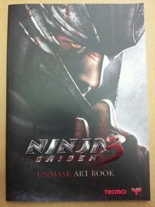 Image of Ninja Gaiden 3 UNMASK Art Book