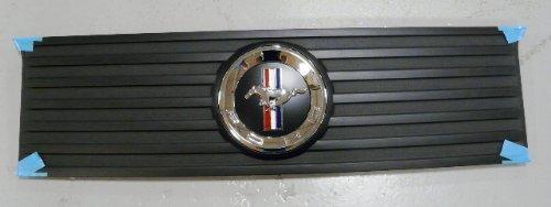 (Oem Factory 2010 2011 2012 10 11 12 Ford Mustang V6 Pony Badge Deck Lid Panel Rear Back Black)