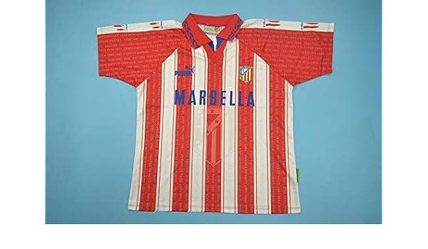 BROOK Atletico Madrid Home Retro Soccer Jersey 1994-1995 ...