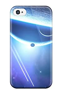 Best 4/4s Scratch-proof Protection Case Cover For Iphone/ Hot Space Sci Fi Phone Case 9068638K98341014
