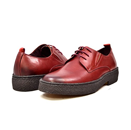 British Collection - Original Playboy Low Cut Leather Shoes Burgundy new cheap online sale official site the cheapest sale online shop choice sale online lOsOceblt