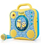 Singing Machine Minions CD+G Karaoke System with Wired Microphone (OK-3415M)