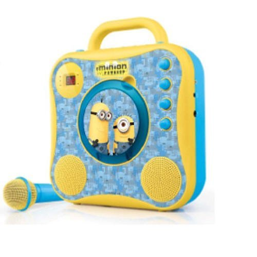 Singing Machine Minions CD+G Karaoke System with Wired Microphone ()