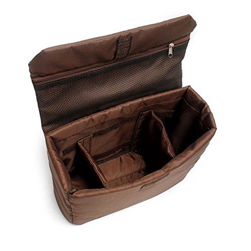DCRYWRX Bolsa De La Cámara De Lona Vintage Messenger Camera Bag Bolsa De Hombro Con Cámaras Digitales A Prueba De Golpes, Ordenadores Portátiles Y Otros ...