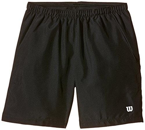 Wilson Jungen Oberbekleidung Rush 8 Zoll Woven Shorts, schwarz, L, WR2019700