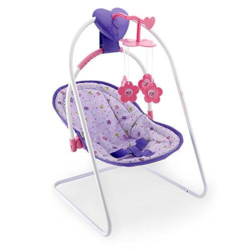 You & Me Musical Doll Swing with Detachable Seat