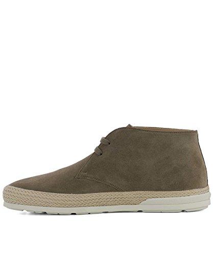 Hogan Mens Hxm3580ae60hg0s413 Desert Boots In Pelle Scamosciata Marrone