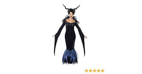 Smiffys - Disfraz de señora Cuervo, Color Negro (43724L): Amazon ...