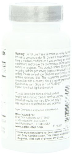 Healthy-Natural-Systems-Diet-Supplement-Bottle-Carb-Cutter-60-Count
