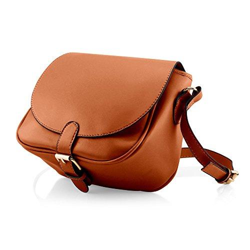 GEARONIC TM Fashion Women Crossbody Handbag PU Leather Shoulder Bag Tote  Purse Ladies Satchel Messenger Hobo 8f1dc59bee41c