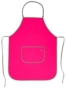 Funda de neopreno barbacoa delantal de cocina - color rosa