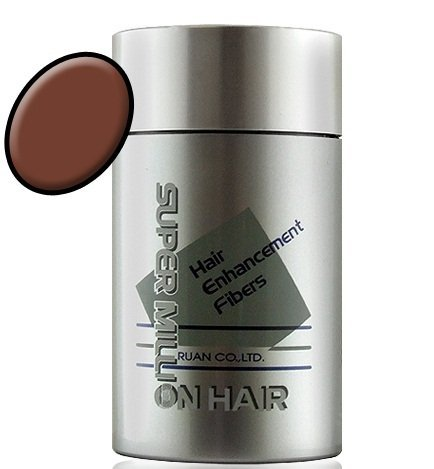 Light 10g - Super Million Hair - Hair Enhancement Fibers - 10 grams - Light Brown / No. 3