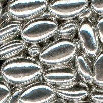 Jordan Almonds - Silver Coated, 5 lbs ()